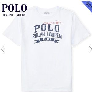 4 for $35 Polo Ralph Lauren Cotton Graphic Tee